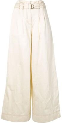 Ulla Johnson Rhodes wide-leg trousers