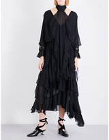 Sharon Wauchob Ruffled silk dress