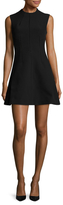 KENDALL + KYLIE Lace Inset Fit And Flare Dress