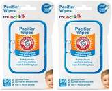 Munchkin Arm and Hammer Pacifier Wipes, White