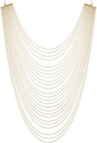 ABS by Allen Schwartz Gold-Tone Multirow Necklace