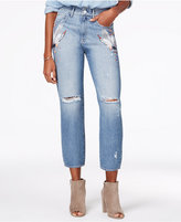 M1858 Frida Embroidered Ripped Straight-Leg Jeans, a Macy's Exclusive Style