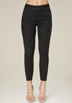 Bebe Piped Edge Crop Trousers