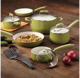Paula Deen 12-pc. Savannah Collection Cookware Set, Pear