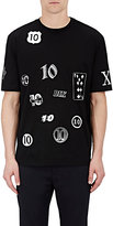 Lanvin Men's Cotton 10th Anniversary T-Shirt-BLACK