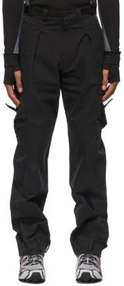 Hyein Seo Black Military Cargo Pants