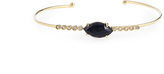 Jacquie Aiche Diamond, onyx & yellow-gold cuff