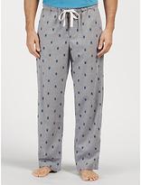 John Lewis Stag Beetle Print Lounge Pants, Grey