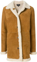 A.P.C. shearling coat