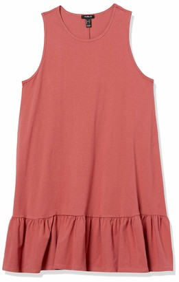 Forever 21 Women's Plus Size Ruffled Trapeze Dress