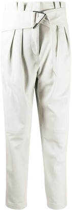 IRO High-Rise Belted Trousers