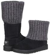 UGG Shea (Toddler/Little Kid/Big Kid) (Black) - Footwear