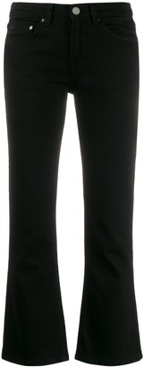 Victoria Victoria Beckham Kick-Flare Cropped Jeans
