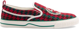 Gucci Men's Tennis 1977 slip-on sneaker