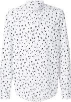 Kenzo diamond print shirt