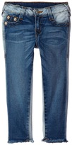 True Religion Casey Ankle Skinny in Side Car Blue Girl's Jeans