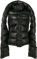 Balenciaga oversized padded coat - women - Feather Down/Polyamide - 34