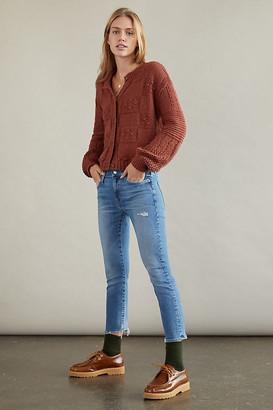 Anthropologie EDWIN Jamie Mid-Rise Slim Boyfriend Jeans By in Blue Size 25