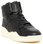 Pony Leather Padded Cuff Mid Sneaker