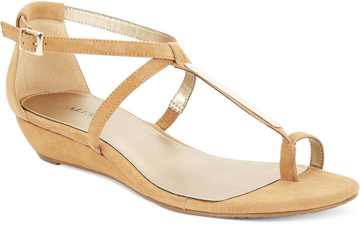 Alfani Women's Shoes, Niko Mini Wedge Sandals
