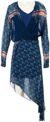 Preen Line Blue Dress for Women