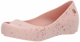 Mini Melissa Girls' Mel Ultragirl Splash Ballet Flat