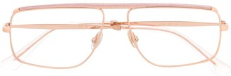 Jimmy Choo Eyewear glitter trim glasses