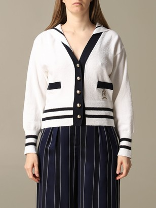 Tommy Hilfiger Cardigan Cardigan With Sailor-style Cape