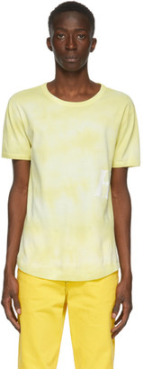 Helmut Lang Yellow Jersey T-Shirt