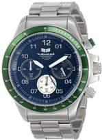 Vestal Unisex ZR2016 ZR-2 Silver Green Black Watch
