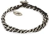 "Wakami Women's Bracelet Single Strand - Black (14.5"")"