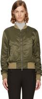 Rag & Bone Green Manston Bomber Jacket