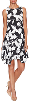 Julia Jordan Floral Printed Trapeze Dress