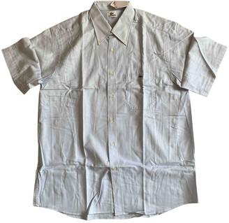 Lacoste Blue Cotton Shirts