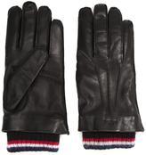 Thom Browne ribbed cuff gloves