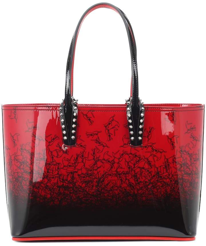 Christian Louboutin Cabata Small patent leather tote