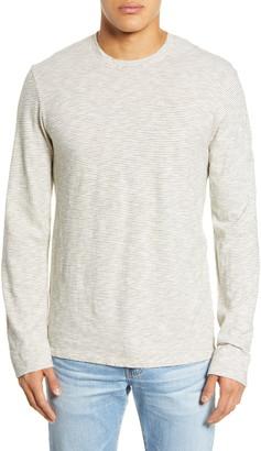 Frame Stripe Long Sleeve T-Shirt