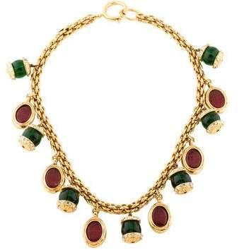 Chanel Gripoix Charm Necklace