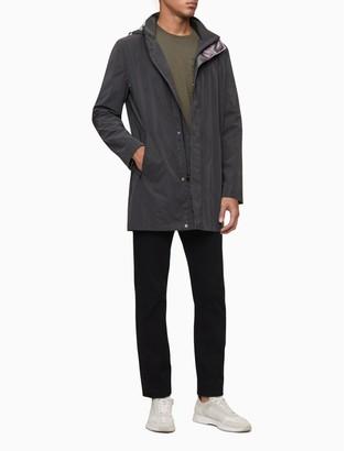Calvin Klein Reflective Zip Hooded Jacket