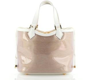 Louis Vuitton Plage Lagoon Bay Handbag Vinyl Epi Leather Mini