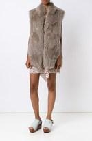 Derek Lam Knitted Fur Vest