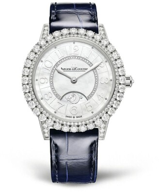 Jaeger-LeCoultre White Gold and Diamond Dazzling Rendez-Vous Night & Day Watch 36mm