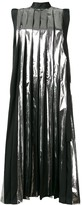 Marni pleated midi dress