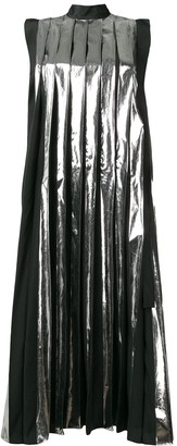 Marni pleated midi dress