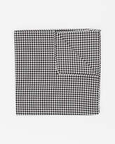 Le Château Italian-Made Houndstooth Silk Pocket Square