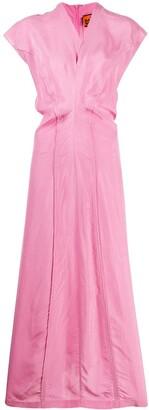 Colville V-neck straight fit dress