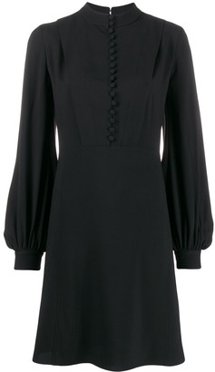 Chloé Buttoned Long Sleeved Dress