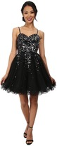 Alejandra Sky Hayley Sequin Short Dress