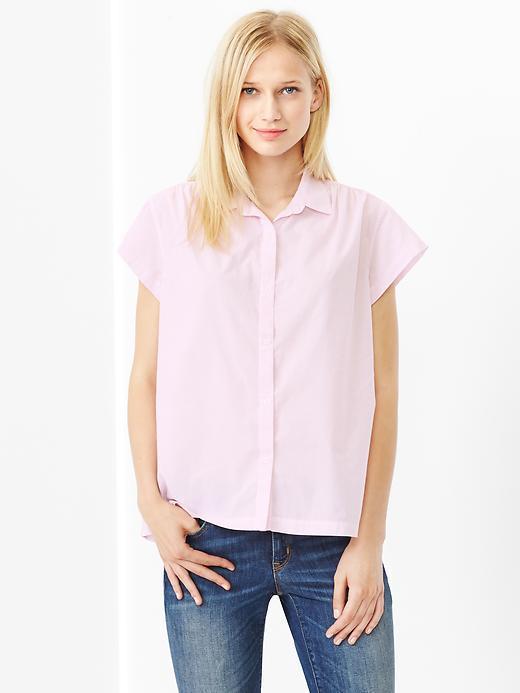 Gap Shirred shirt