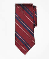 Brooks Brothers Bold Textured Split Stripe Tie